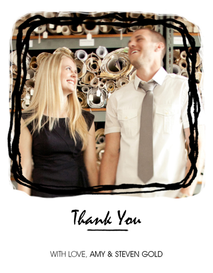 thank you cards - Thank you from Us! by Justine Massa
