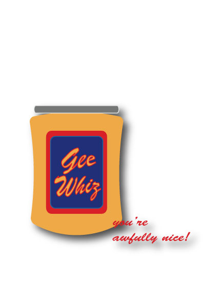 thank you cards - Gee Whiz by Kori Woodring