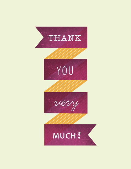 thank you cards - Ziggety Zag by Luckybug Designs