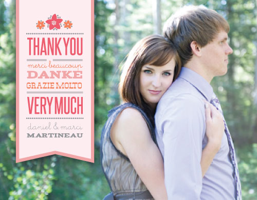thank you cards - Bookmarked Love by Richelle Lynn Garn