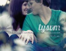 tysvm* by Julie Krinke