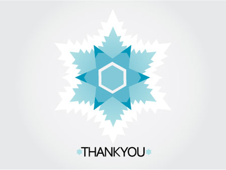 thank you cards - A Message from Water by Garaguchy