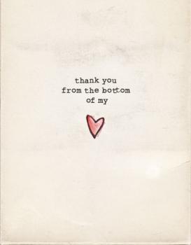 My Type of Thanks