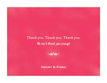 Thank you. Thank you. Thank you