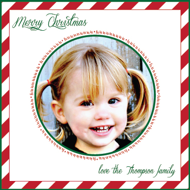 holiday photo cards - Fa la la la la la la la la by Elisabeth Lein