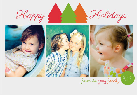 holiday photo cards - Colorful Life by Garaguchy