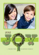 Joyous Wreath by The Polkadot Balloon