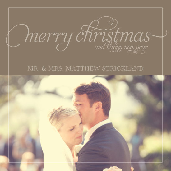 holiday photo cards - Traditional Christmas by Olive Paper
