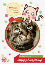 Kawaii Meow Card by Garaguchy