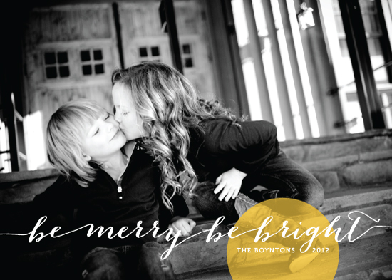 holiday photo cards - Bright Spot by Lehan Veenker