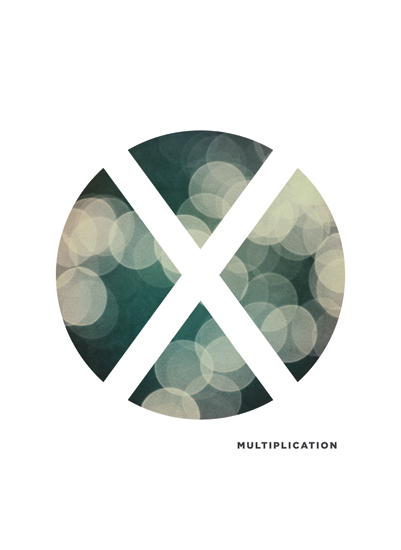 art prints - Bokeh Multiplication by Waui Design