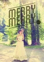 Vintage Merry Merry by Abby McElfresh Creative
