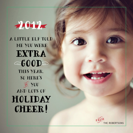 holiday photo cards - Extra Good by linda-lou