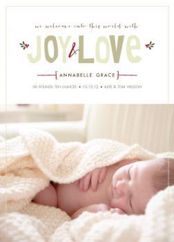Baby Brings Joy & Love