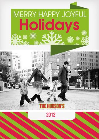 holiday photo cards - Origami Modern  by Garaguchy