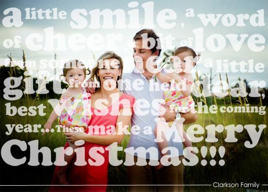 holiday photo cards - Make a Merry Christmas !! by Charu Tiwari