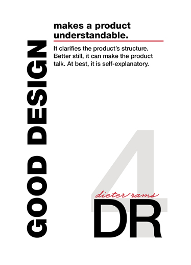 art prints - dieter rams: #4 by blackwhite press