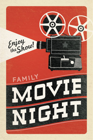 art prints - Movie Night by Jill Means