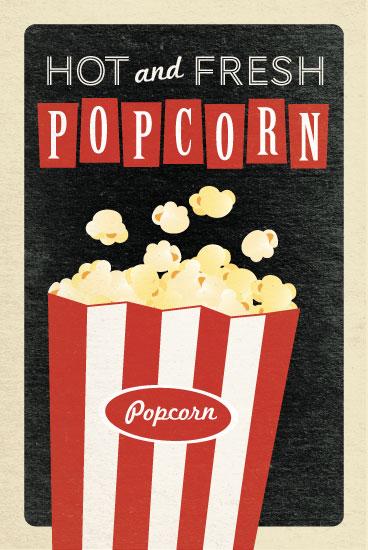 art prints - Popcorn by Jill Means