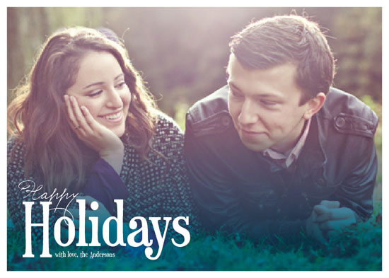 holiday photo cards - Christmas Blues by Serena Lane