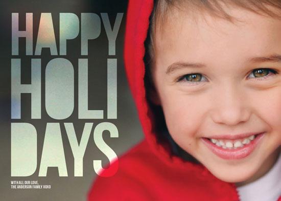 holiday photo cards - Holiday Block by Serena Lane