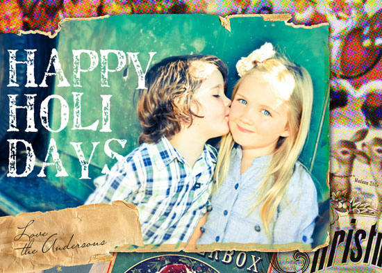 holiday photo cards - Very Vintage by Serena Lane