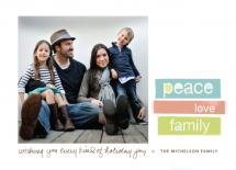 peace love family by wendy fessler