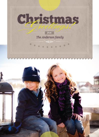 holiday photo cards - craft greetings by Ana Maria Villanueva