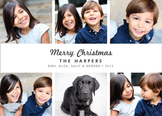 holiday photo cards - Urbane by Alston Wise