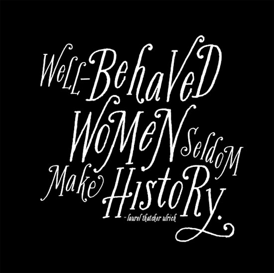 art prints - Misbehaved Women by Cheer Up Press