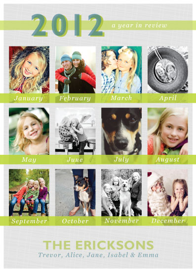 holiday photo cards - in review by Inkblot Paper