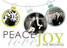 Peace Love Joy by Kendra Stewart