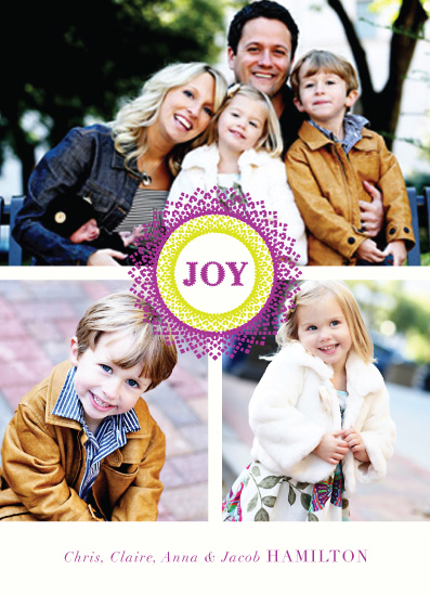holiday photo cards - Stitched & Sealed by Inkblot Paper