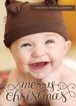 Merry Christmas Swirl O... by Jenna Blazevich