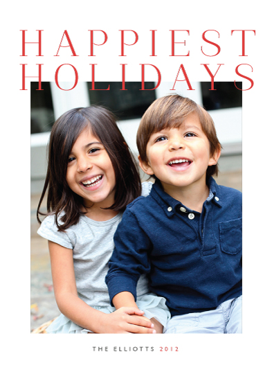 holiday photo cards - Grand by Alston Wise
