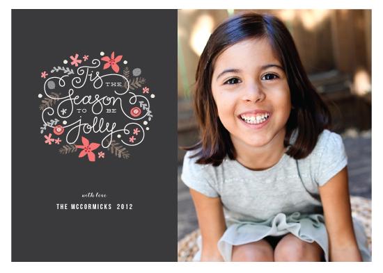 holiday photo cards - Tis the Season by Jennifer Wick