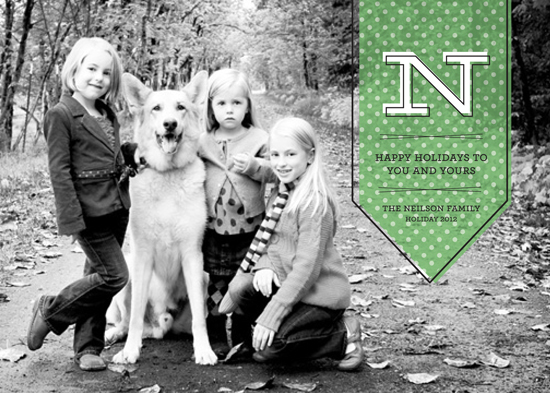 holiday photo cards - A Banner Year by la Happy