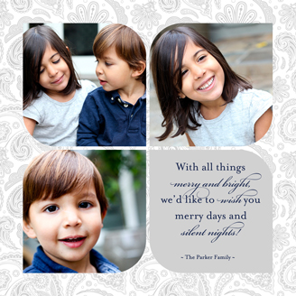 holiday photo cards - A Paisley Christmas by The Picture Portal