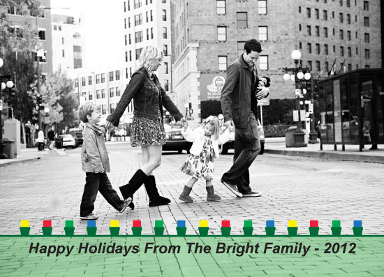 holiday photo cards - LED Lights by Iget2design2day
