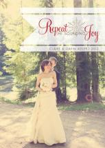 Repeat the Sounding Joy by RACHEL LESLIE DESIGNS