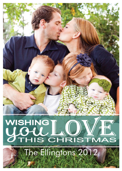 holiday photo cards - Wishing Love by A. Dolan