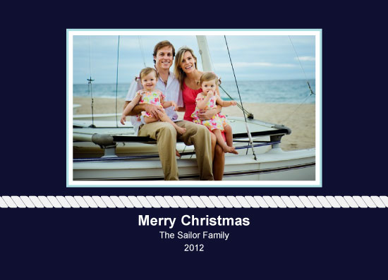holiday photo cards - Nautical by Iget2design2day