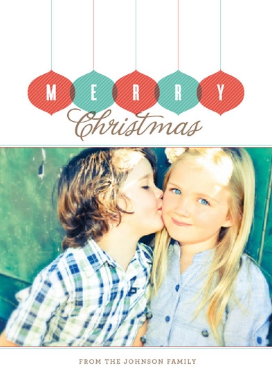 holiday photo cards - Merry Christmas by Sook Lee