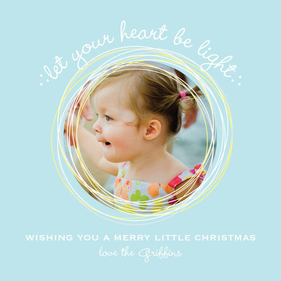 holiday photo cards - light heart by Emily - Fresh Paper Studios