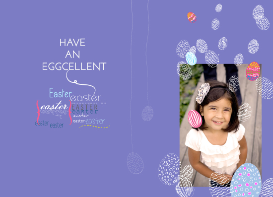 holiday photo cards - Eggcellent Easter by Gabriel