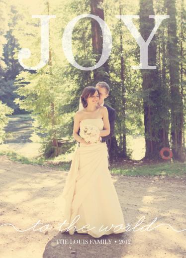 holiday photo cards - Sheer Joy by eskimo design