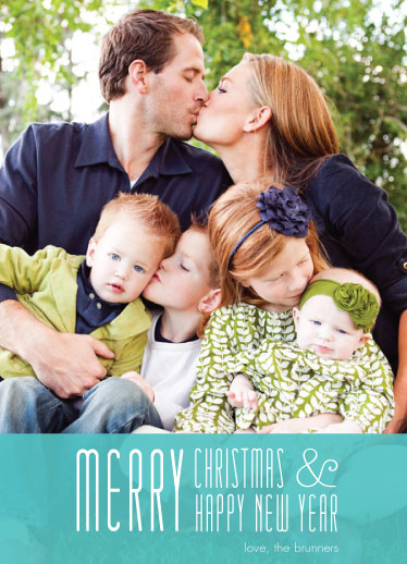 holiday photo cards - Thoroughly Merry by Ana Maria Munoz