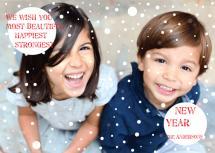 snowy Happy New Year! by Dushka
