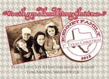 1st Texas Holiday by Jos Paper Kitchen
