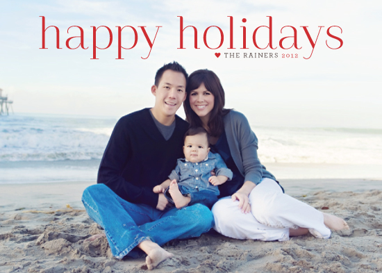 holiday photo cards - Timeless Greeting by Alston Wise